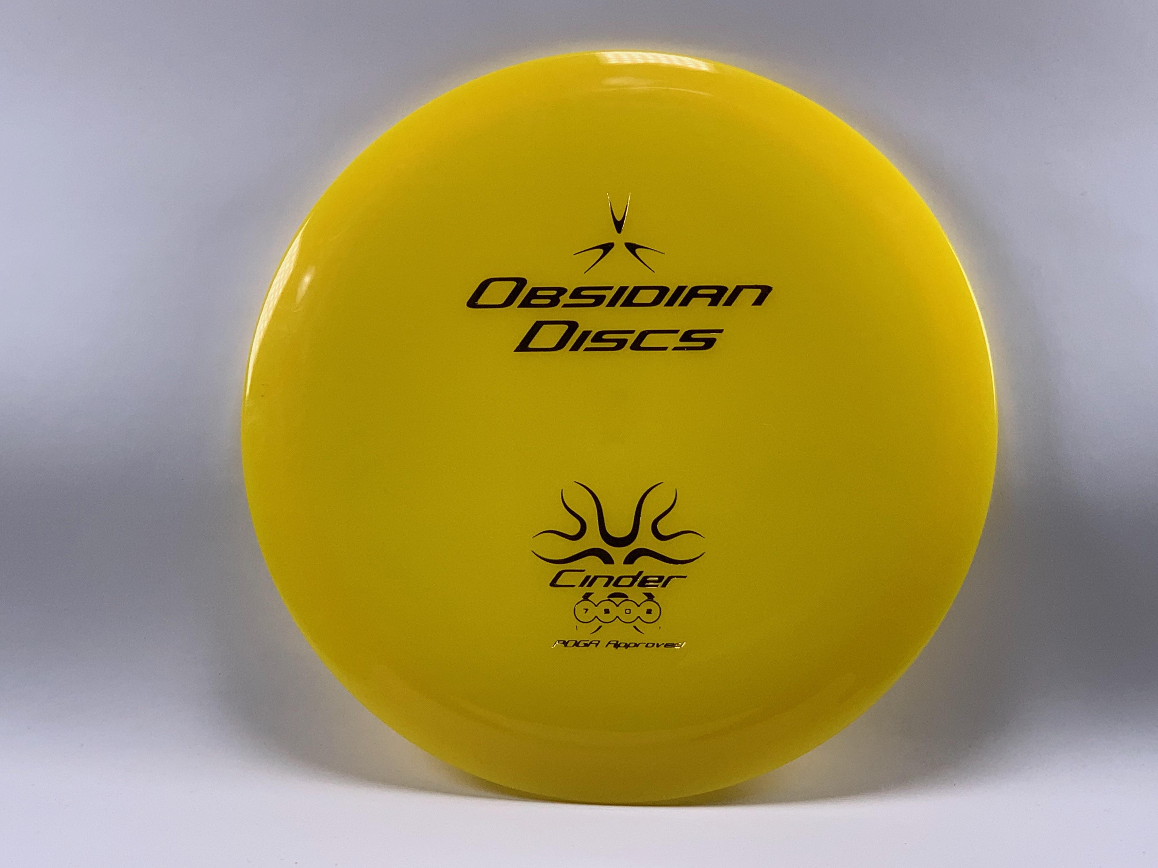 Obsidian Discs Cinder