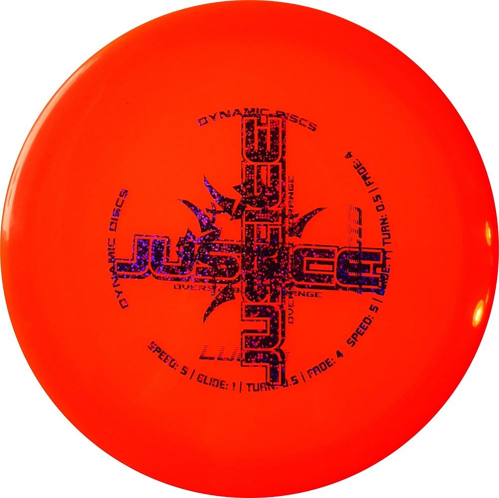 Dynamic Discs Lucid Justice (misprint)