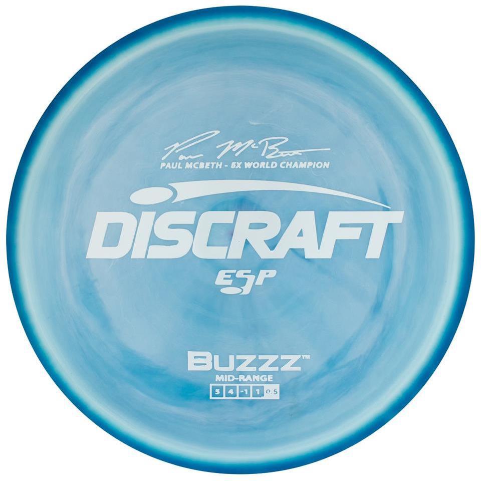 Discraft ESP Buzzz Paul McBeth 5x