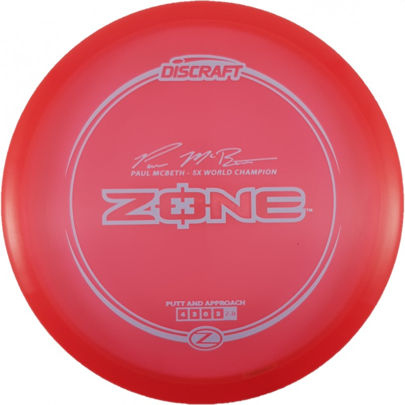 Discraft Z Zone Paul Mcbeth 5x