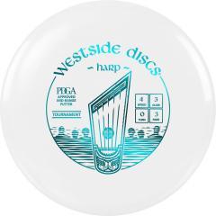 Westside Discs Tournament Harp, valkoinen