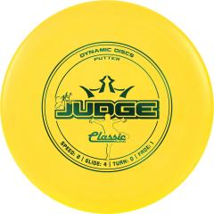 Dynamic Discs Prime Burst Emac Judge, keltainen