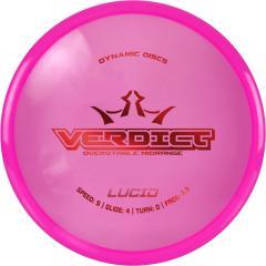Dynamic Discs Lucid Verdict, pinkki