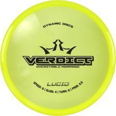 Dynamic Discs Lucid Verdict, keltainen