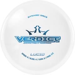 Dynamic Discs Lucid Verdict, valkoinen
