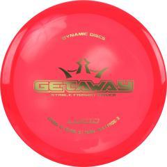 Dynamic Discs Lucid Getaway, punainen