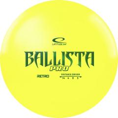 Latitude 64 Retro Ballista Pro, keltainen