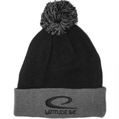 Latitude 64 Pipo, musta/harmaa