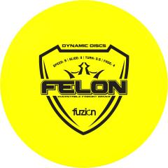 Dynamic Discs Fuzion Felon, keltainen