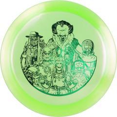 Westside Discs Vip Glimmer Boatman -Halloween-, vihreä