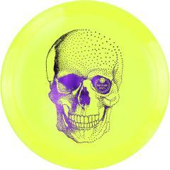 Westside Discs Vip-X Stag -Happy Skull-, keltainen