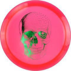 Westside Discs Vip-X Stag -Happy Skull-, punainen