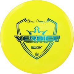 Dynamic Discs Fuzion-X Verdict -Chris Clemons Team Series V2 2021-