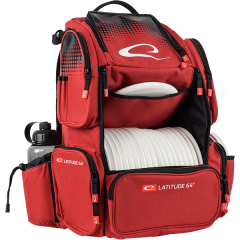 Latitude 64 Luxury bag E4, punainen